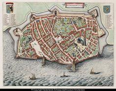 Kaart van Harderwijk