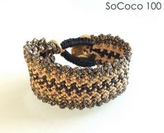 SoCoco - Life and Travel with a Capital Style Macrame Bracelets, Fashion Inspiration, How To Apply, Unique, Leather, Handmade, Stuff To Buy, Jewelry, Hand Made