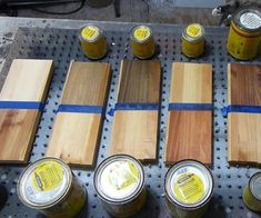 The Affects of Different Stains on White Pine Wood