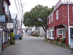 bearskin neck, rockport mass. there used to be a tiny restaurant at the tip where you could get whole lobster dinners pretty cheap and eat them while you looked at the  water. it was a great place to end a day at the beach in nearby gloucester.