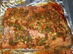 Asian Marinated Glazed Salmon-Annette's