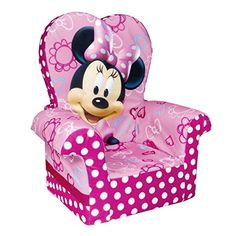These are such Popular kids toys!! Best toys 2 year olds! Marshmallow Furniture Minnie's Bow-Tique High-Back Chair