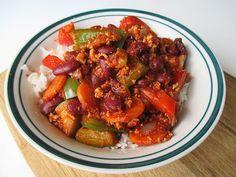 Chilli Con Tofu (Vegan)
