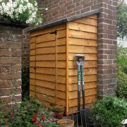 Larchlap 4ft x 2ft (1.13m x 0.6m) Overlap Wall Store Shed