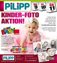 Happy Baby: Kinderfoto-Aktion vom 09.04. - 11.04.2015 in Ansbach