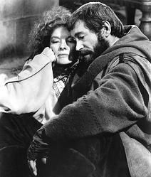 Hepburn and O'Toole in Lion in Winter