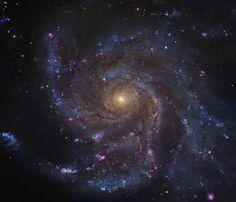 Messier 101. Just beautiful..