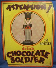 Chocolate soldier Soda Pop |