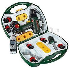 Jeu d'imitation malette outils avec portable Bosch http://www.rotopino.fr/jeu-d-imitation-malette-outils-avec-portable-bosch,58558 #jouet #jeu #enfant #rotopino #bosch