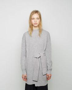 Proenza Schouler | Belted Cashmere Sweater Dress | La Garçonne