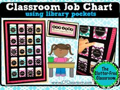 Tips for Creating & Managing Classroom Jobs {job charts, student jobs, classroom management}