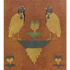 A rare Sogdian split tapestry (kilim) coat with animal motifs, Central Asia, 9th/10th Century. Photo: Sotheby's.