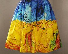 Pintura al óleo de arte colección Monet casitas por PurpleFishBowl