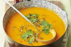 Pumpkin and orange soup recipe - goodtoknow
