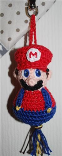 Super Mario sleutelhanger