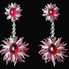 #ruby#diamonds#whitegold#vicenzaoro#jmgdesigner#italy#fancy look!!diva