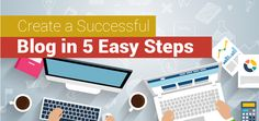 Create A Successful Blog In 5 Easy Steps. NCode Technologies India provides best SEO services to run and manage your blogs on any platform.