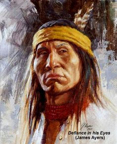 Defiance in his Eyes (James Ayers)