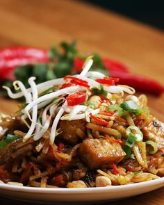 Vegan Pad Thai Recipe by Tasty