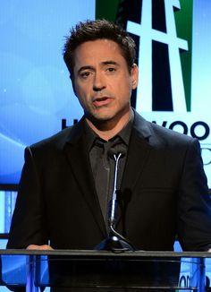 Robert Downey Jr at the Hollywood Film Awards (2013)