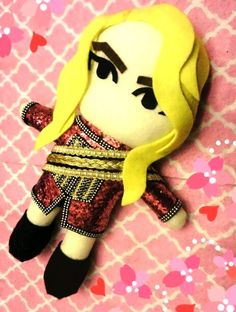 Kpop 2NE1 CL plushie plush dolls toy Crush  tour by kirbychan. For more kpop goodies and kpop fan made plushies please visit my KpopStore!