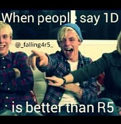 True!!!! I saw that video!! OMG! Ross was laughing so hard, he started crying!! He couldn't stop laughing! And then Riker started laughing and crying! :D