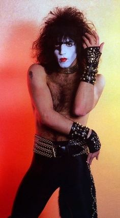 "Paul Stanley Heaven photo ""Creatures Of The Night/10th anniversary tour, Municipal Auditorium  Kansas City , Missouri, March 1 , 1983"""