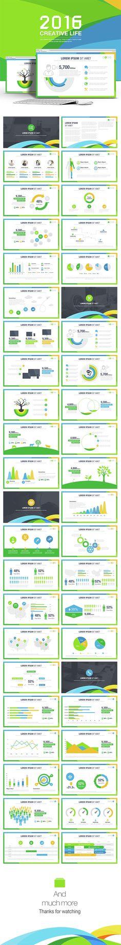 Creative Life Powerpoint Templates (PowerPoint Templates)