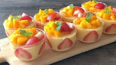 Mango Desserts, Mango Recipes, Jelly Recipes, Party Desserts, Delicious Desserts, Cake Recipes, Dessert Recipes, Yummy Food, Amish Recipes