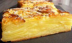 Recette d'un Gâteau aux pommes ultra léger