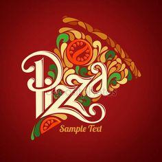 Modelo de design de pizza