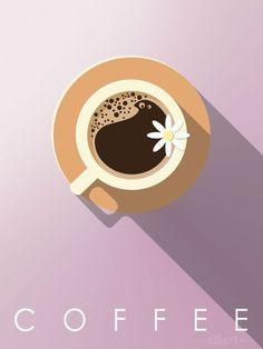 {happy draw} Coffee – Beth Foster – Willkommen in der Welt der Frauen Abstract Illustration, Coffee Illustration, Graphic Design Illustration, Illustrator, Coffee Drawing, Drawing Cup, Guache, Coffee Design, Art Design