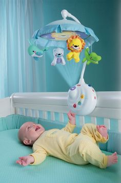 The Precious Planet 2 In 1 Projection Mobile From Fisher Price Combines Animal
