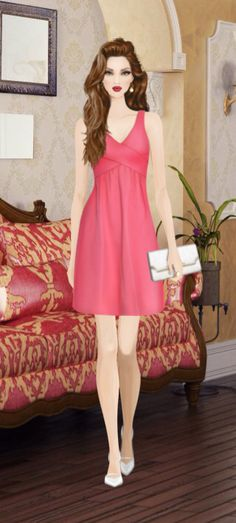 Fashion Game! Covet fashion look, please like!