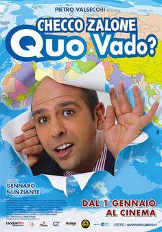 Quo Vado, scheda del film con Checco Zalone, leggi la trama e la recensione, guarda il trailer, trova la programmazione del film al cinema.
