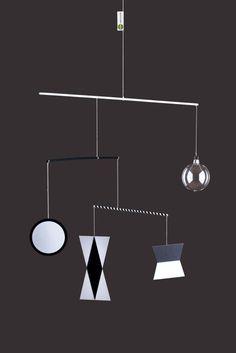 Munari – koule s kovovým očkem Montessori, Mobiles, Objects, Chandelier, Ceiling Lights, Design, Home Decor, Paper, Baby