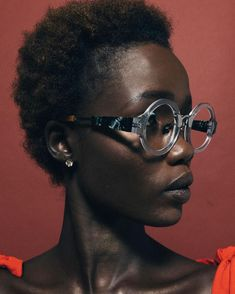 - COCO AND BREEZY EYEWEAR (@cocoandbreezy) tea. Short hair. Afro hair. Kinky hair. Short natural hair. Dark skin. Brown skin. Dark skin women. Eye wear. Short hairstyles.