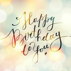 Birth Day     QUOTATION – Image :     Quotes about Birthday  – Description  Happy Birthday to You!  Sharing is Caring – Hey can you Share this Quote !
