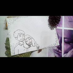 Cartão dia dos namorados  #diadosnamorados #valentines #valentineday #casal #couple #amor by deunatelhart
