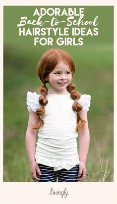 These easy hairstyles for school are beautiful Little Girl Haircuts, Baby Girl Hairstyles, Back To School Hairstyles, Princess Hairstyles, Trendy Hairstyles, Braided Hairstyles, Hairdos, Toddler Hairstyles, Hairstyles 2016