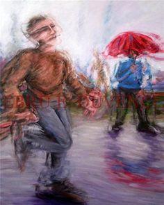 "Saatchi Online Artist Ebru E Duvenci; Painting, ""untitled, 2010, oil on canvas, 100x80cm"" #art"