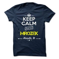 SunFrogShirts cool   MROZEK - keep calm -  Discount 5% Check more at http://tshirtsayyes.com/camping/popular-tshirt-name-ideas-mrozek-keep-calm-discount-5.html