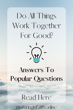 Answers To Popular Questions: Is Speaking In Tongues For Today? – Maturing In Faith All Things Work Together, Romans 8 28, Speaking In Tongues, Good Find, Some People Say, Spiritual Gifts, New Testament, Continue Reading, Bible