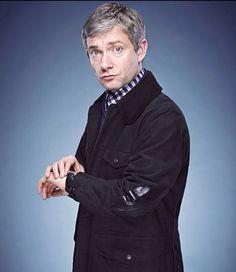 Martin Freeman as John Watson <3