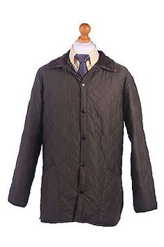 Barbour #quilted #jacket #chelsea sportsquilt khaki chest 46'' br368,  View more on the LINK: http://www.zeppy.io/product/gb/2/262759641778/
