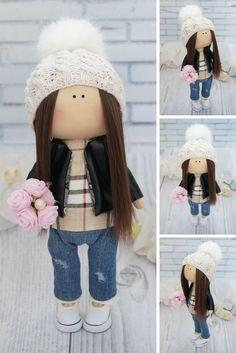 Fabric doll Soft doll Decor doll Muñecas Tilda doll Bambole