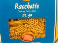 DeCecco Tennis Racquet Pasta