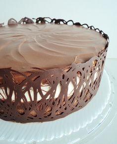 tuxedo truffle cake 6