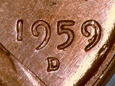 Info about the 1959 D over D repunched mintmark variety. This is the D misplaced in second 9 of date variety. Valuable Pennies, Valuable Coins, Gold Eagle Coins, Silver Coins, Saving Coins, Old Coins Worth Money, Copper Penny, Penny Coin, Error Coins