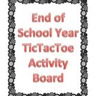 This product contains nine activities for students to choose from based on the end of the school year.  Choice boards provide students with independent projects that offer choice in the products that they create.  They love the freedom!